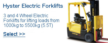 Select Hyster Electric Forklifts