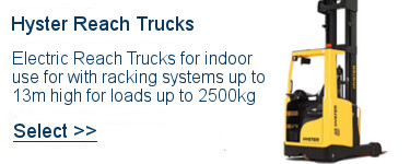 Select Hyster Reach Trucks